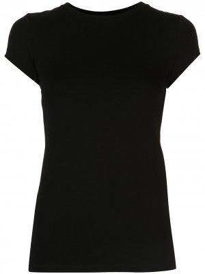 LAgence футболка Ressi с круглым вырезом L'Agence. Цвет: черный