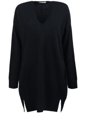 Пуловер свободного кроя DOROTHEE SCHUMACHER. Цвет: черный