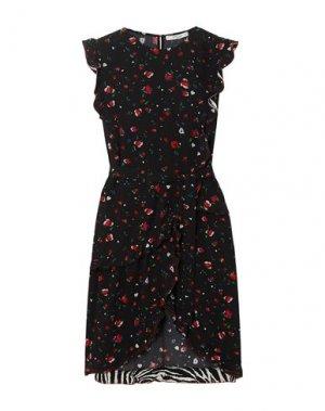 Короткое платье DEREK LAM 10 CROSBY. Цвет: черный
