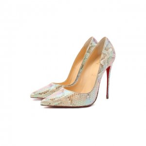 Кожаные туфли So Kate 120 Christian Louboutin. Цвет: разноцветный