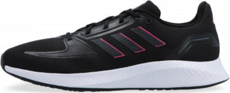 Кроссовки женские adidas Runfalcon 2.0 W, размер 36.5. Цвет: черный