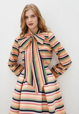 Блуза Belucci. Цвет: разноцветный
