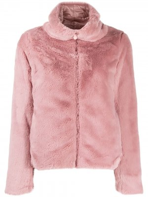 Двусторонняя куртка-бомбер FURY9 Save The Duck. Цвет: розовый