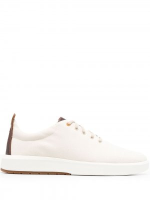 Кроссовки на шнуровке Timberland. Цвет: нейтральные цвета