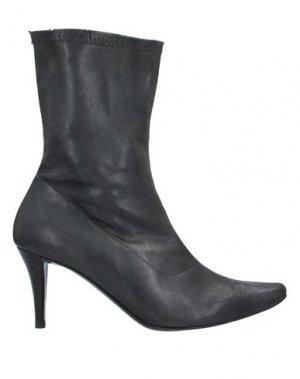 Полусапоги и высокие ботинки FARRUTX. Цвет: свинцово-серый