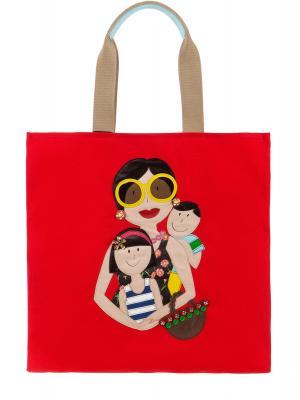 Пляжная сумка DOLCE & GABBANA. Цвет: разноцветный