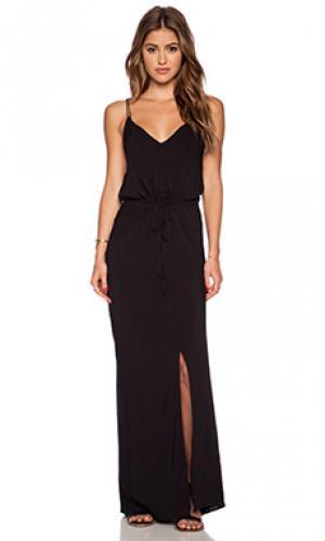 Платье lyssa Paige Denim. Цвет: черный
