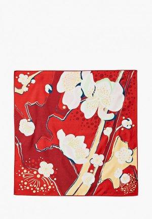 Платок Freywille Hommage a Vincent Van Gogh. Цвет: красный