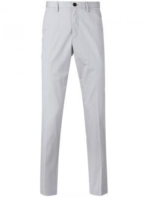 Классические брюки-чинос Michael Kors Collection. Цвет: серый