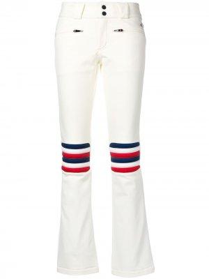 Расклешенные лыжные брюки Aurora Perfect Moment. Цвет: белый
