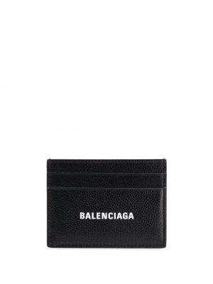 Картхолдер с логотипом Balenciaga. Цвет: 1090 - черный