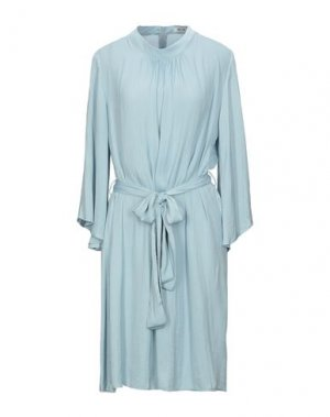 Платье до колена DRY LAKE.. Цвет: небесно-голубой