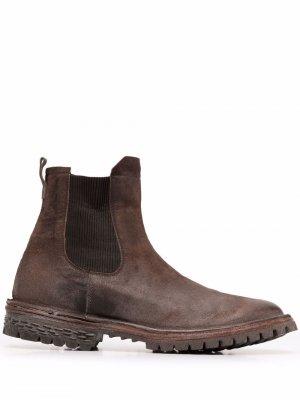 Ботинки челси MOMA. Цвет: коричневый