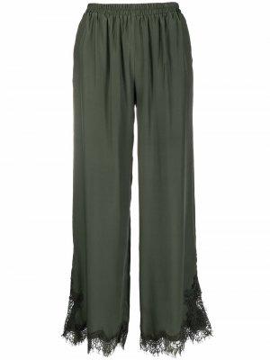 Широкие брюки Coco Gold Hawk. Цвет: зеленый