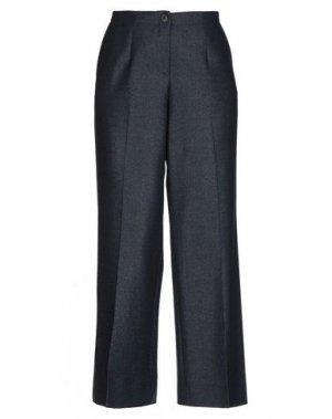 Повседневные брюки VIA MASINI 80. Цвет: синий