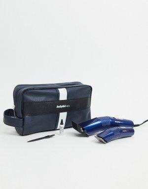 Подарочный набор с машинкой для стрижки волос BaBylissMEN-Бесцветный Babyliss