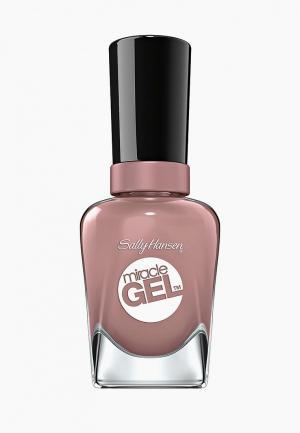Гель-лак для ногтей Sally Hansen Miracle Gel, 494 Love me Lilac, 14 мл. Цвет: розовый