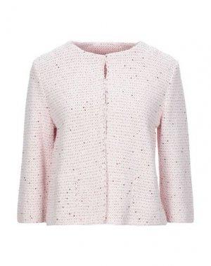 Пиджак ANNECLAIRE. Цвет: светло-розовый