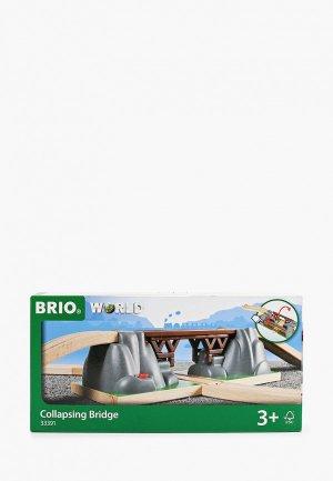 Конструктор Brio Падающий мост, 3 элемента. Цвет: разноцветный