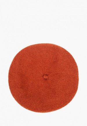 Берет Violeta by Mango M BERET. Цвет: коричневый