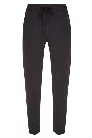 Темно-серые брюки с эластичным поясом James Perse. Цвет: серый