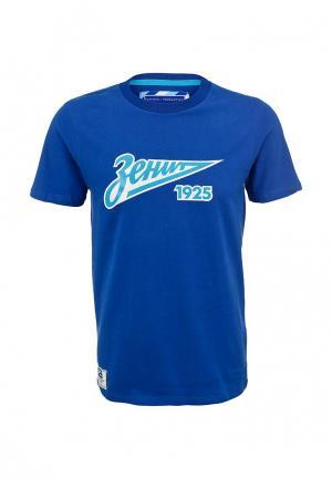 Футболка Atributika & Club™ FC Zenit. Цвет: синий