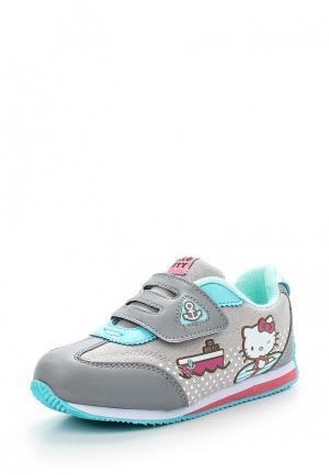 Кроссовки Hello Kitty. Цвет: серый