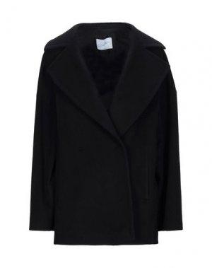 Пальто SOALLURE. Цвет: черный