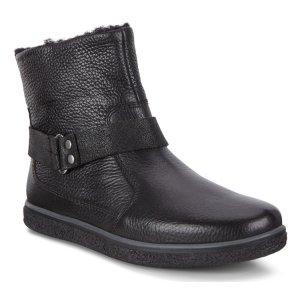 Ботинки высокие CREPETRAY ECCO. Цвет: черный