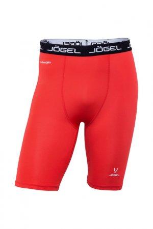 Шорты компрессионные Camp Jogel. Цвет: красный, белый