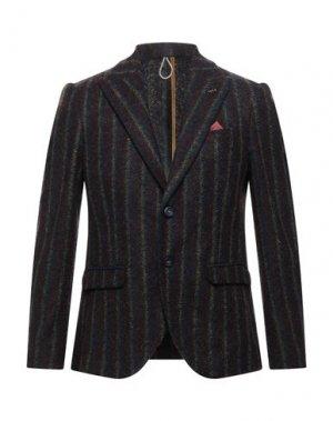 Пиджак OFFICINA 36. Цвет: красно-коричневый