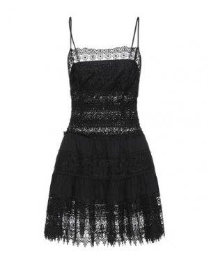 Короткое платье CHARO RUIZ IBIZA. Цвет: черный