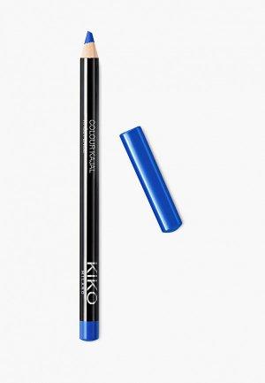 Карандаш для глаз Kiko Milano каял внутреннего контура век COLOUR KAJAL оттенок 14, Dream in Blue, 1.05 г. Цвет: синий
