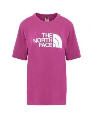 Футболка THE NORTH FACE. Цвет: светло-фиолетовый