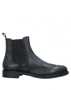 Полусапоги и высокие ботинки SANTONI. Цвет: синий