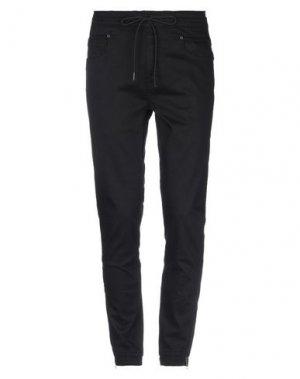 Джинсовые брюки CR7 CRISTIANO RONALDO. Цвет: черный