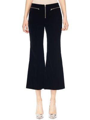 Классические брюки PUSHBUTTON. Цвет: черный