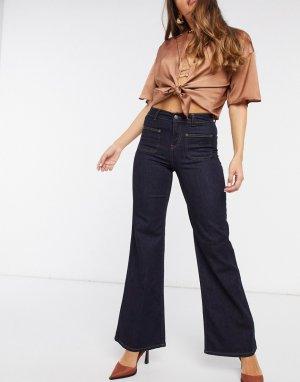 Широкие джинсы -Синий In Wear