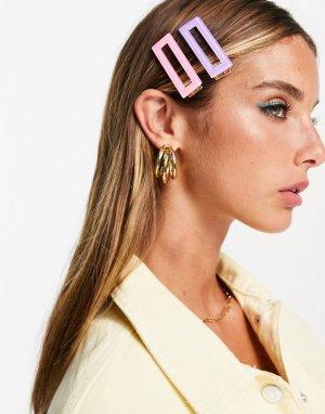 Крупные заколки для волос -Разноцветный South Beach