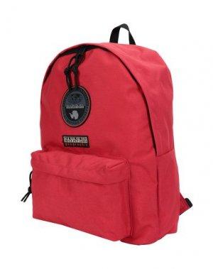 Рюкзаки и сумки на пояс NAPAPIJRI. Цвет: кирпично-красный