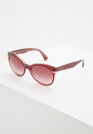 Очки солнцезащитные Ralph Lauren RA5238 16988H. Цвет: бордовый