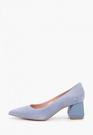 Туфли Giotto. Цвет: голубой