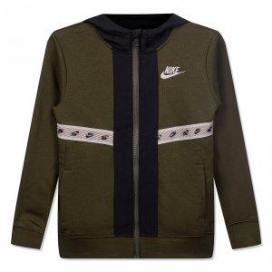 Elevated Trims Full Zip Nike. Цвет: зеленый