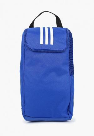 Сумка спортивная adidas TIRO SB. Цвет: синий