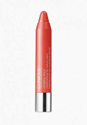 Бальзам для губ Clinique Stick Moisturizing Lip Colour Balm, 12 Oversized Orange, 3 гр.. Цвет: коралловый