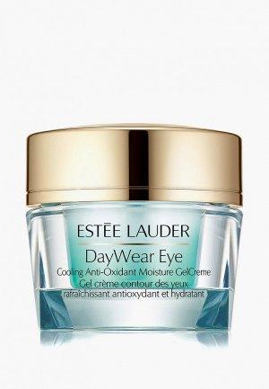 Гель для кожи вокруг глаз Estee Lauder увлажняющий с антиоксидантами и охлаждающим эффектом DayWear Eye Cooling Anti-Oxidant Moisture GelCreme 15 мл. Цвет: прозрачный