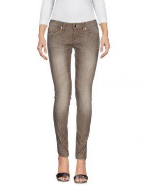 Джинсовые брюки G.SEL. Цвет: хаки