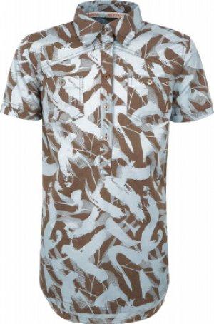 Рубашка женская , размер 52 Merrell. Цвет: бежевый