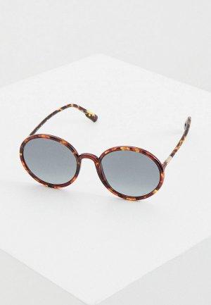 Очки солнцезащитные Christian Dior SOSTELLAIRE2 EPZ. Цвет: коричневый