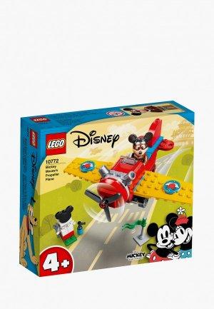 Конструктор LEGO Винтовой самолёт Микки. Цвет: разноцветный